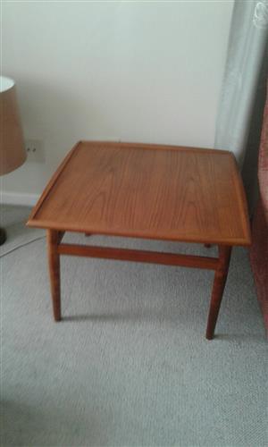 Square Teak Table 68cm