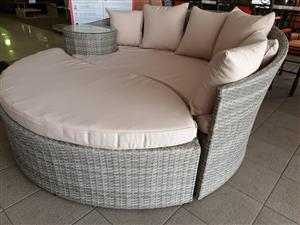 Cairns Poly Wicker patio set