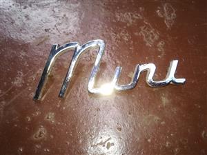 Original Steel Mini badge