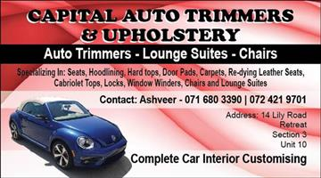 Auto Trimmers and Upholsterers