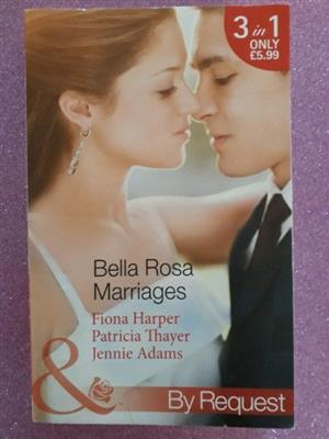 Bella Rosa Marriages - Mills & Boon.