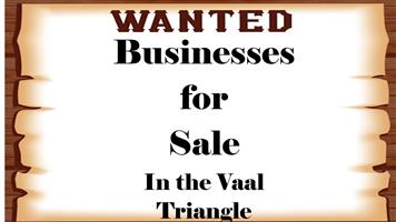 Wanted Businesses for sale