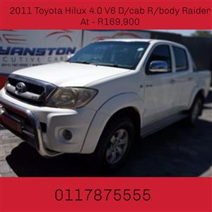2011 Toyota Hilux 4.0 V6 double cab Raider