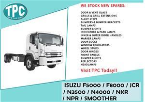 SUZU F5000 / F8000 / JCR / N3500 / N4000 / NKR / NPR / SMOOTHER FOR SALE.