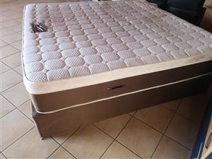 King Size extra length bed