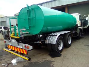 WATER TANKERS ALL SIZES MENUFACTURE AND ALL HYDRAULICS INSTALLATIONS. CALL 0766109796