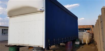 8 Ton Taut Liner Body With Fuel Saver For Sale