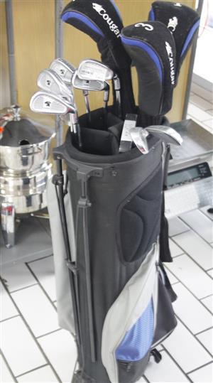 COMPLETE COUGAR GOLF CLUBS IN BAG S038002A #Rosettenvillepawnshop