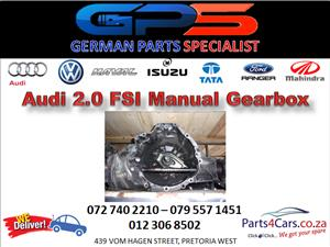 Audi 2.0 FSI Man Gearbox for Sale