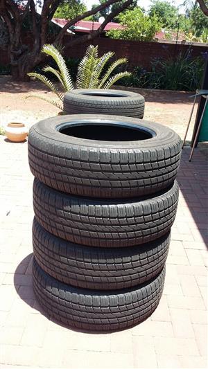 Bargain!! Yokahama tyres 225-65'17