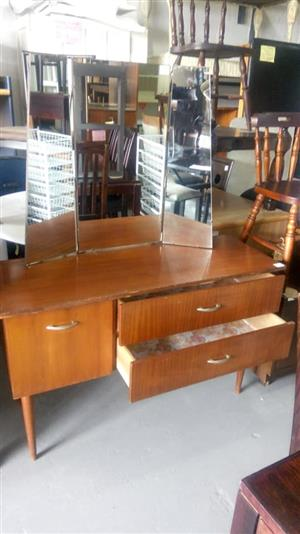 2 Drawer dressing table with mirrors