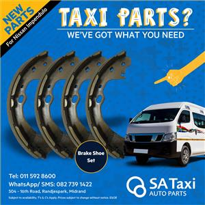 Brake Shoe Set for Nissan NV350 Impendulo - SA Taxi Auto Parts quality spares
