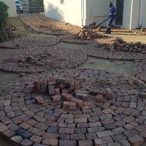 Clay Half bricks/Cobbles