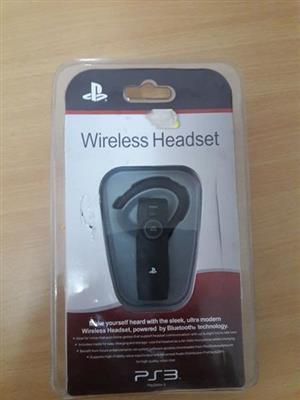 PlayStation 3 wireless headset