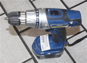 Cordless drill in box with charger and one battery S037024A #Rosettenvillepawnshop