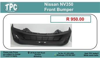 Nissan NV350 Front Bumper For Sale.