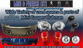 Mini Cooper Clubman used Body parts on Big sale !! Now !!