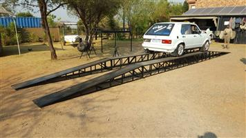Car wash ramps for pressure washing....