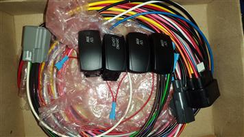 Ford Ranger XL-Plus T6 extended wiring harness