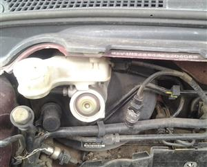 Volvo S40 MK2 04-12 Facelift Brake Booster,Brake Fluid Bottle & Brake Master Cylinder