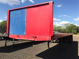 U Make D/A Flatbed Trailer 15Ton 12m Pre-Owned Trailer
