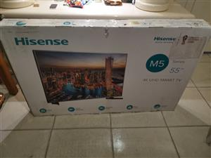 Hisense 55 inch 4k Smart uhd led tv brand new sealed  55M5010UW M5 Series