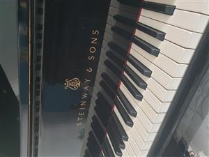 Steinway & Sons Vintage Baby Grand Piano
