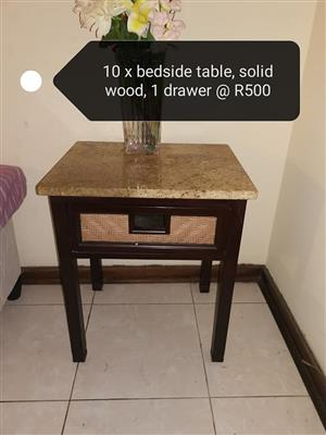 10 Bedside tables for sale