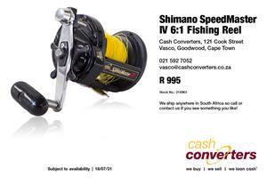 Shimano SpeedMaster IV 6:1 Fishing Reel   Junk Mail