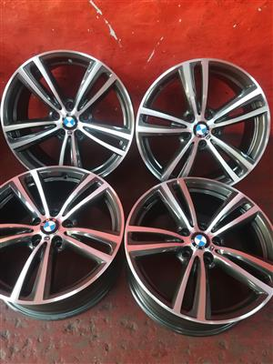 bmw 19inch mag rims for sale