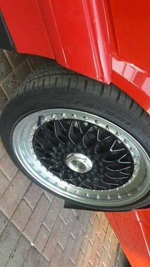 """17"""" Lenzo Rims to SWAP with 15"""" rims n cash difference"""