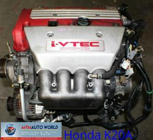 Imported used,HONDA CIVIC/ACCORD TYPE-R, K20A
