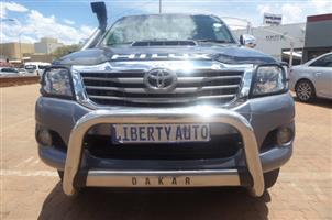 2012 Toyota Hilux 3.0D 4D Xtra cab Raider Dakar edition