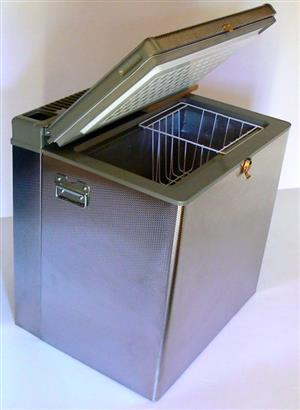 COLD FACTOR 3 WAY (12V,220V,GAS) AND 2 WAY (220V,GAS) STAINLESS STEEL CAMP FREEZERS - 3YR WARRANTY