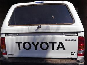 2008 Toyota Hilux single cab HILUX 2.4 GD 6 SRX 4X4 P/U S/C