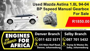 Used Mazda Astina BP 1.8L 94-04 Manual 5Speed Gearbox For Sale