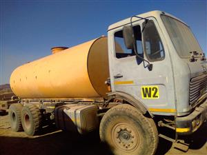 1979 Mercedes Benz water truck for sale in running and working condition Price include vat