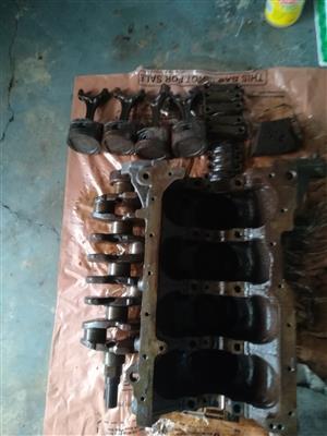 7afe block crankshaft conrods pistons flywheel sump dipstick