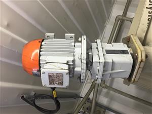 2 x Agitators with Variable Speed Control