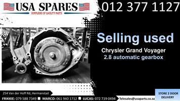Chrysler Grand Voyager 2.8 2008-19 used automatic gearbox for sale