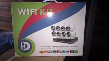 Wireless  wifi  8 channel camars nvr