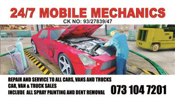 24/7 Mobile Mechanics