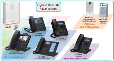 Panasonic PabxVoiP/Switchboards (4 Lines & 8 Extensions) for Small to Medium Business.