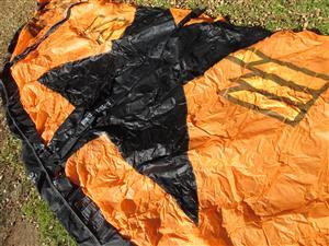 T5 Kite, NOBILE kiteboarding, boarding, 10m (square), bag / backpack.
