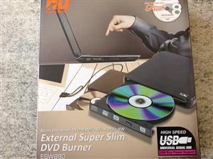 External Super Slim DVD Burner