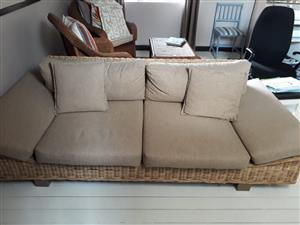Cane / Rattan Sofa for sale