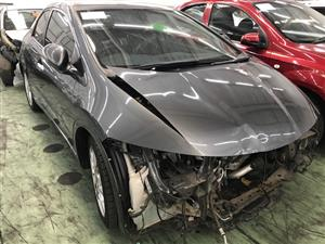 Stripping this vehicle Honda Civic 2.2 cdti  2012