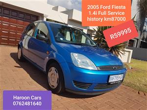 2005 Ford Fiesta hatch 5-door FIESTA 1.6i AMBIENTE 5Dr