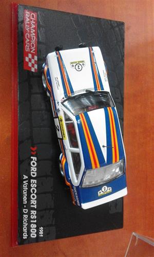 Ford Escort RS 1800 racing car
