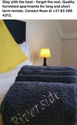 Long /Short term furnished accommodation